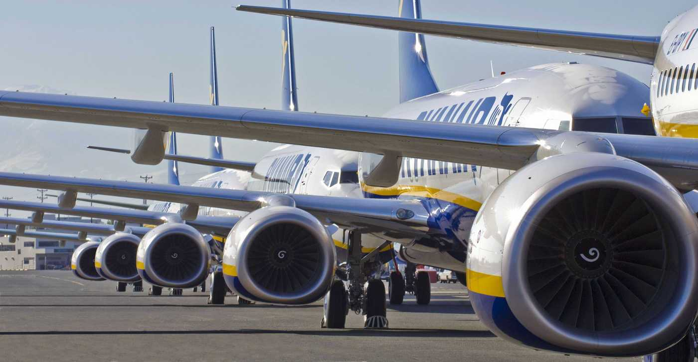 Aircraft Fleet Airline Ryanair