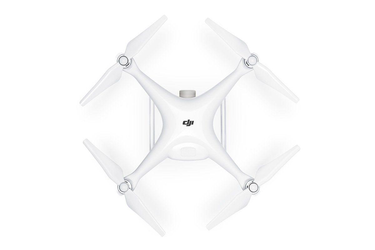vista superior drone dji phantom 4