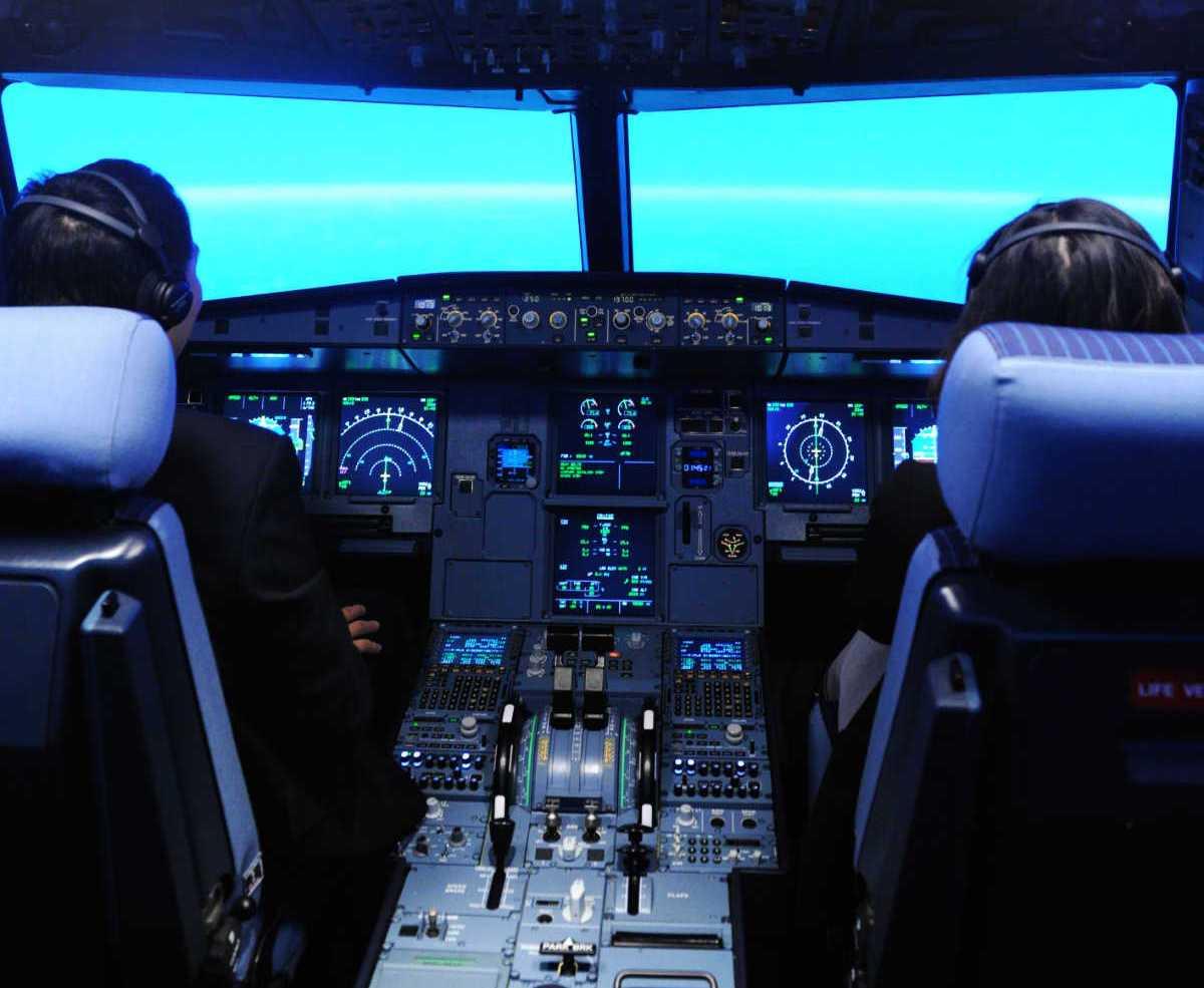 simulador de vuelo airbus a320