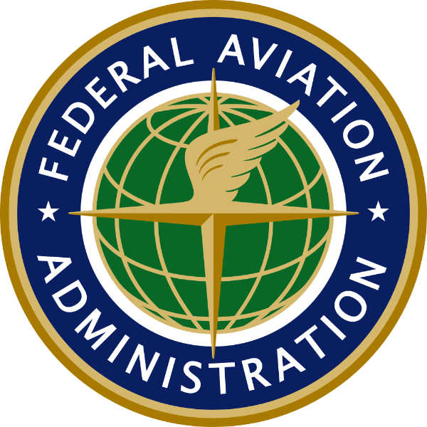 escudo y logo de la federal aviation administration organismo que regula nueva ley drones usa