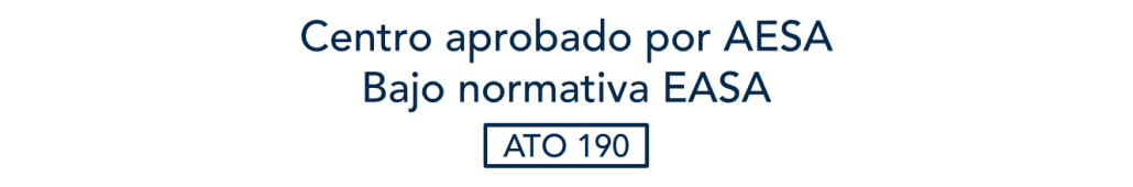 centro aprobado por aesa bajo normativa easa ato 190