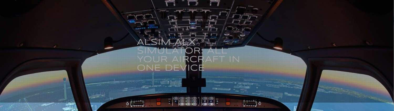 simulador de vuelo alsim alx de one air