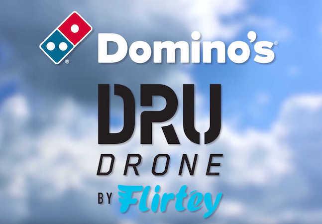 dominos pizza dru drone by flirtey