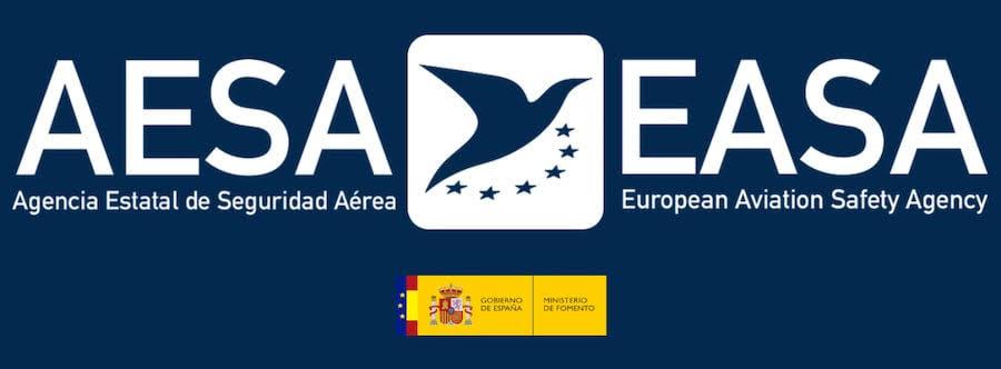 logo aesa, logo easa, ministerios de fomento, gobierno de espana