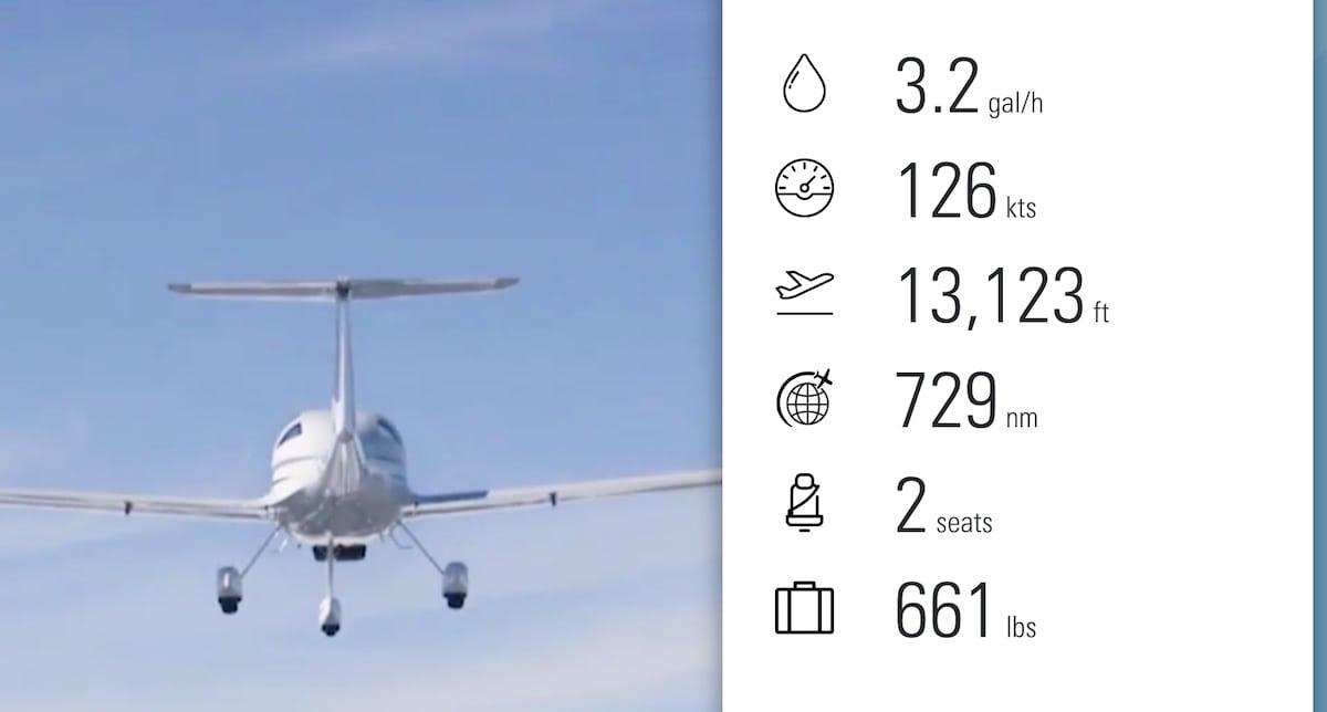 caracteristicas principales de la aeronave diamond da20