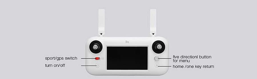 emisora de control del xiaomi fimi a3 drone